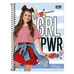 Caderno Maisa - Girls Power - 80 Folhas - Tilibra