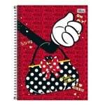 Caderno Minnie Doots - Bolsa - 10 Matérias