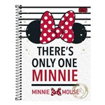 Caderno Minnie Mouse - There's Only One - 16 Matérias - Tilibra