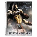 Caderno Mortal Kombat X - Goro - 80 Folhas - Tilibra