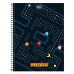 Caderno Pac Man - Jogo - 1 Matéria - Tilibra