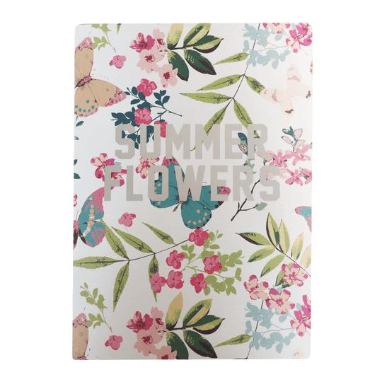 Caderno Paper La Spezia Summer Flowers Off