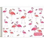 Caderno para Desenho Capa Dura Aloha 80 Folhas Pacote com 04 Tilibra