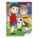 Caderno Pedagógico Brochura Caligrafia Sapeca Futebol 40 Folhas Tilibra