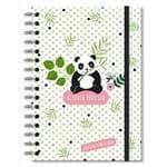 Caderno Pontilhado Panda- Fina Ideia 00007208