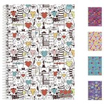 Caderno Pop Collection Universitario Feminino 1x1 96 Folhas