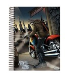 Caderno Power Dog 10 Materias 200 Folhas Foroni