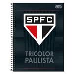 Caderno São Paulo - Preto - 160 Folhas - Tilibra