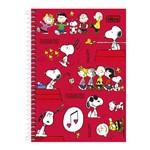 Caderno Snoopy - Turminha - 10 Matérias - Tilibra