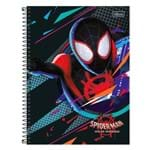 Caderno Spider Man Into The Spider-verse - Teia - 80 Folhas - Tilibra