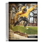 Caderno Teen Way - Ar Livre - 10 Matérias - Jandaia