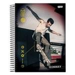 Caderno Teen Way - Manobra da Quadra - 10 Matérias - Jandaia