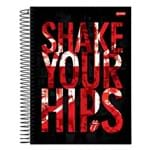 Caderno The Rolling Stones - Shake Your Hips - 10 Matérias - Jandaia