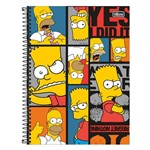 Caderno The Simpsons - Bart & Homer - 1 Matéria - Tilibra