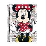 Caderno Universitário 200 Folhas Mickey/Minnie