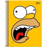Caderno Universitário 200 Folhas The Simpsons