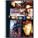 Caderno Universitário 10 Matérias Iron Man - Tilibra 1016519