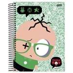 Caderno Universitário 10 Matérias Monica Toy Cebolinha Jandaia