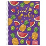 Caderno Universitário 10x1 200 Fls C.d. Foroni - Fruit Lovers 3