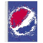 Caderno Universitário 1x1 96 Fls C.D Foroni - Pepsi 2