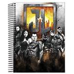 Caderno Universitário 1x1 96 Fls C.D. Jandaia - Liga da Justiça Filme 2