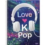 Caderno Universitário 10x1 Foroni 200 Fls Kpop (203333)