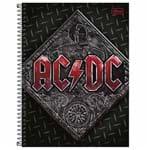 Caderno Universitário AC/DC 1 Matéria Tilibra 1021092