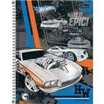Caderno Universitário Capa Dura 200 Folhas 10 Matérias Tilibra Hot Wheels