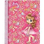 Caderno Universitário Capa Dura 10 Matérias 200 Folhas Judy Foroni