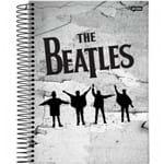 Caderno Universitário Capa Dura 10 Matérias 200F Folhas The Beatles Jandaia