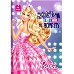 Caderno Universitário Capa Dura Barbie Rock - 96 Folhas - Foroni