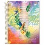 Caderno Universitário Coca Cola Girl 10 Matérias Jandaia 1020350