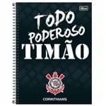 Caderno Universitário Corinthians 16 Matérias Tilibra 1004132