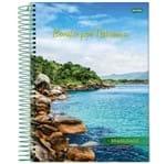 Caderno Universitário Espiral 1X1 96 Folhas Capa Dura Jandaia - Brasilidade 09