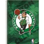 Caderno Universitário Espiral Boston Celtics Nba 96 Folhas