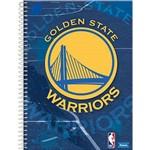 Caderno Universitário Espiral Golden State Nba 96 Folhas