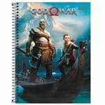 Caderno Universitário God Of War 16 Matérias Tilibra 1019771