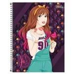 Caderno Universitário Hi! Girls 10 Matérias Tilibra 1011474