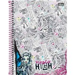 Caderno Universitário Monster High 200 Folhas