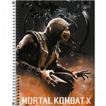 Caderno Universitário Mortal Kombat X Tilibra
