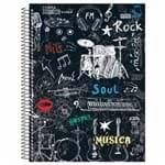 Caderno Universitário Música 96 Folhas São Domingos 1001266