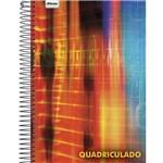 Caderno Universitário Quadriculado 1cm 96 Folhas Capa Dura Foroni