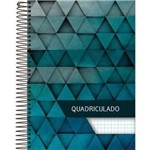 Caderno Universitário Quadriculado Foroni - 1x1 - Espiral - 96 Fls