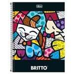 Caderno Universitário Romero Britto 1 Matéria Tilibra 1006250