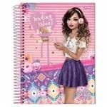 Caderno Universitário Selfie Girl 10 Matérias Jandaia 1020363