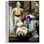 Caderno Universitário Star Wars 1 Matéria Jandaia