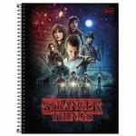 Caderno Universitário Stranger Things 10 Matérias Tilibra 1027934