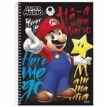 Caderno Universitário Super Mario 1 Matéria Foroni 1013193