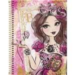 Caderno Universitário Tilibra Ever After High Menina com Rosa Capa Dura 1 Matéria - 96 Folhas