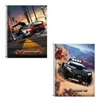 Caderno Universitário Tilibra X-Racing 200 Folhas